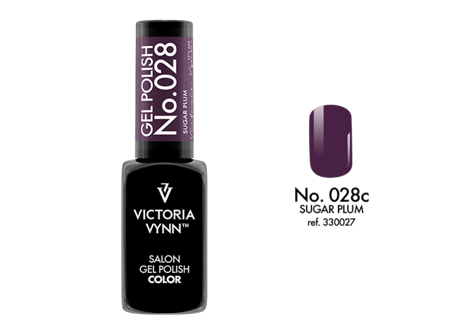 Victoria Vynn Gel Polish Color No.028 Sugar Plum 8 ml