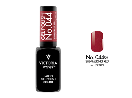 Victoria Vynn Gel Polish Color No.044 Shimmering Red 8ml