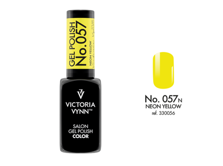 Victoria Vynn Gel Polish Color No.057 Neon Yellow 8ml