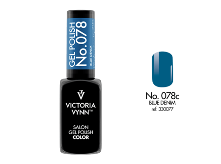 Victoria Vynn Gel Polish Color No.078 Blue Denim 8ml