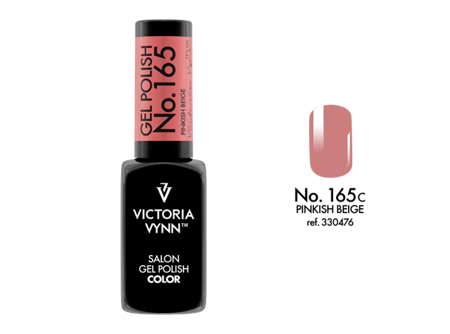 Victoria Vynn Gel Polish Color No.165 Pinkish Beige 8ml