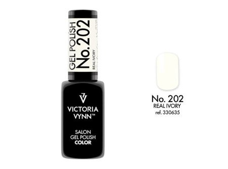 Victoria Vynn Gel Polish Color No.202 Real Ivory 8ml