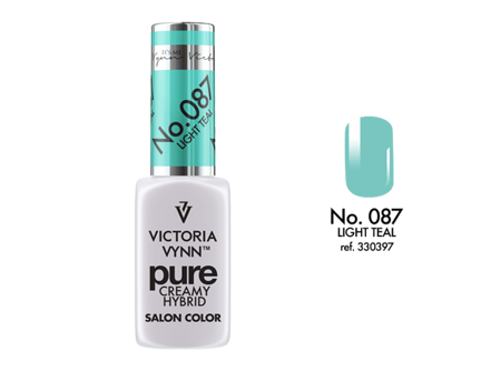 Victoria Vynn Lakier Hybrydowy Pure Creamy Hybrid No.087 Light Teal 8ml